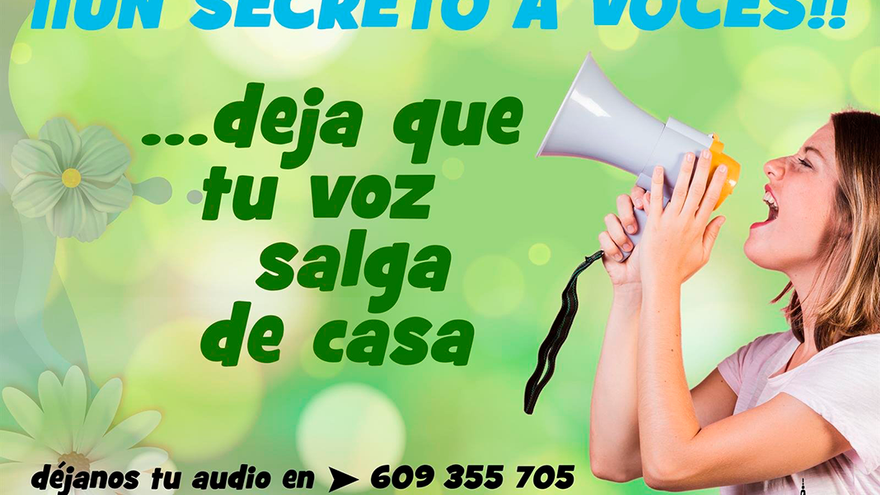 Cartel de la iniciativa 'Secreto a voces'.