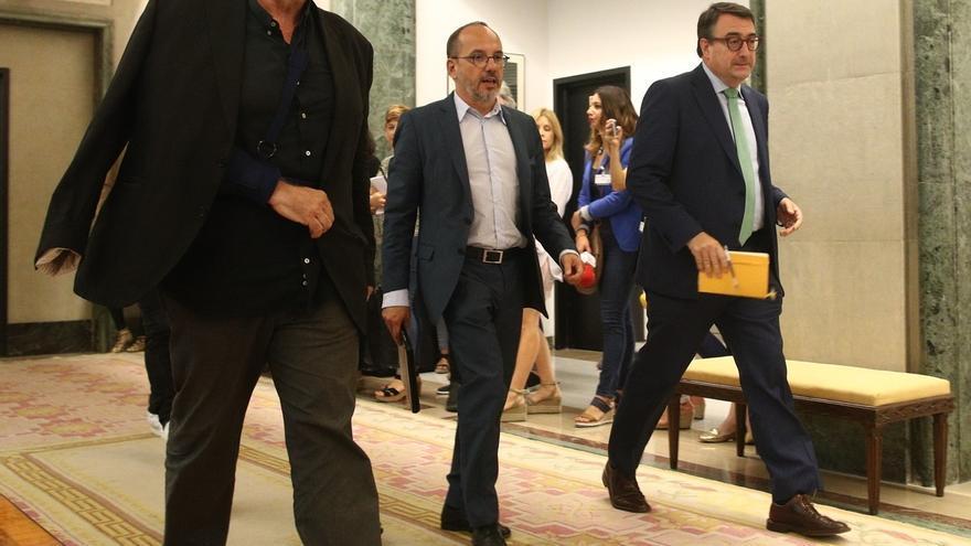 ERC y PDeCAT no critican al PNV por no enmendar los Presupuestos de Rajoy y valoran que los condicione al 155