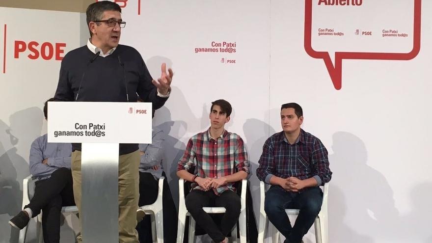 """Patxi López apuesta por """"elevar el debate"""" en el PSOE: """"A ver si dejamos esta fase de enfrentamiento entre socialistas"""""""