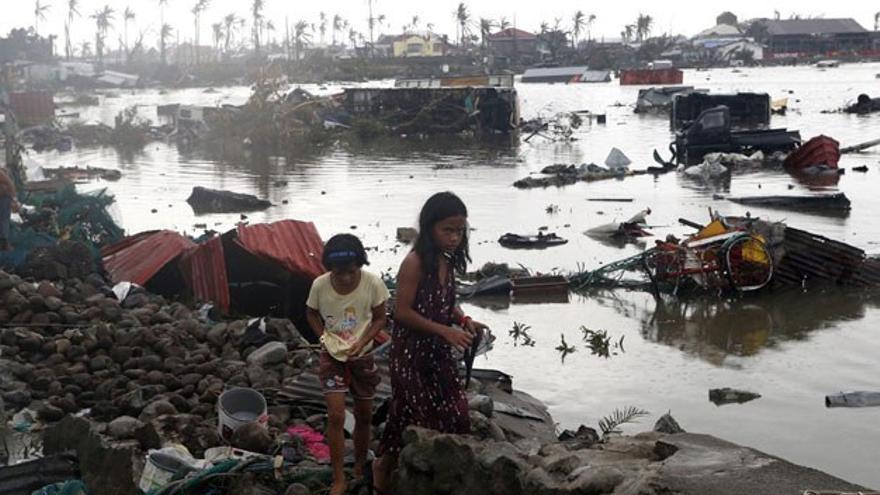 Devastación en Filipinas tras el tifón Haiyan