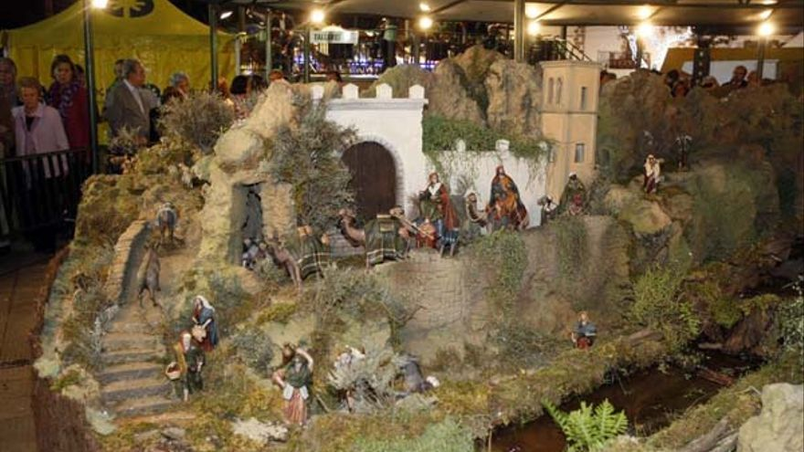 Nacimiento de San Telmo. (ACFI PRESS)
