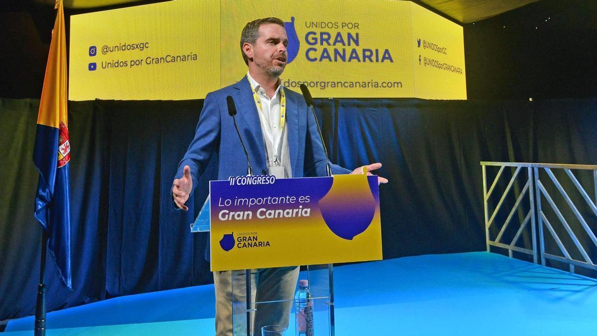 Lucas Bravo de Laguna, presidente de Unidos por Gran Canaria.