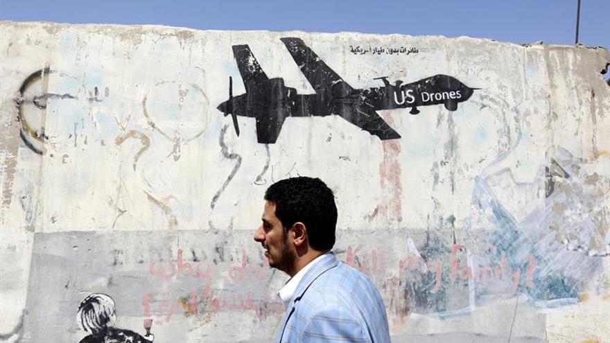Interceptados nueve drones de los hutíes en una semana, según la coalición árabe
