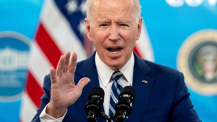 Biden promete acceso a vacunas en abril para el 90 % de los adultos de EE.UU.