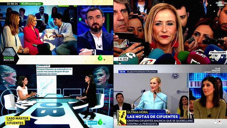 Detalles de los programas que han abordado el caso Cifuentes en TV