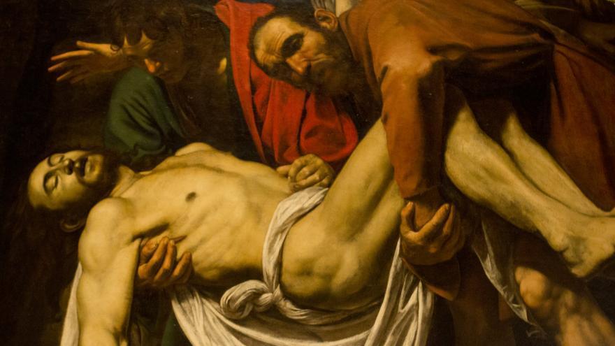 El Descendimiento de la Cruz, obra maestra de Caravaggio.