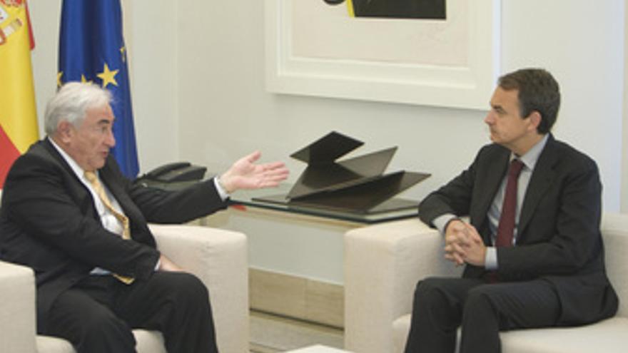 Presidente del Gobierno, José Luis Rodríguez Zapatero, ha recibido en el Palacio