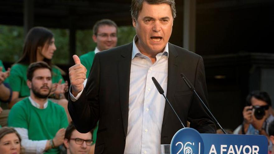 """El PP ve a Iglesias como """"un farsante"""" que hace el juego a los independentistas"""