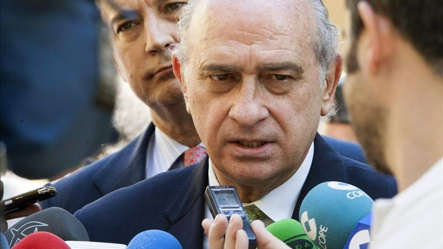 """Fernandez Díaz dice que en Cataluña """"no puede imperar la ley de la selva"""""""