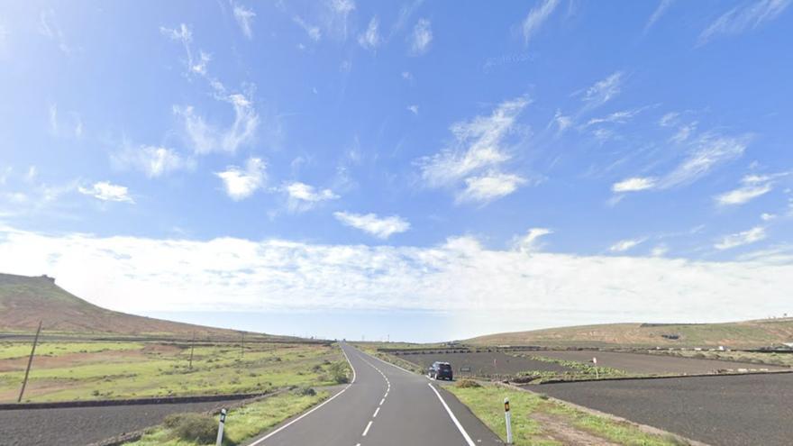 Herido de gravedad un motorista tras sufrir una caída en Lanzarote