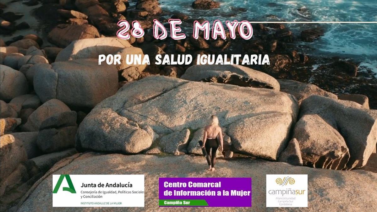 Cartel Día Internacional de Acción por la Salud Igualitaria.