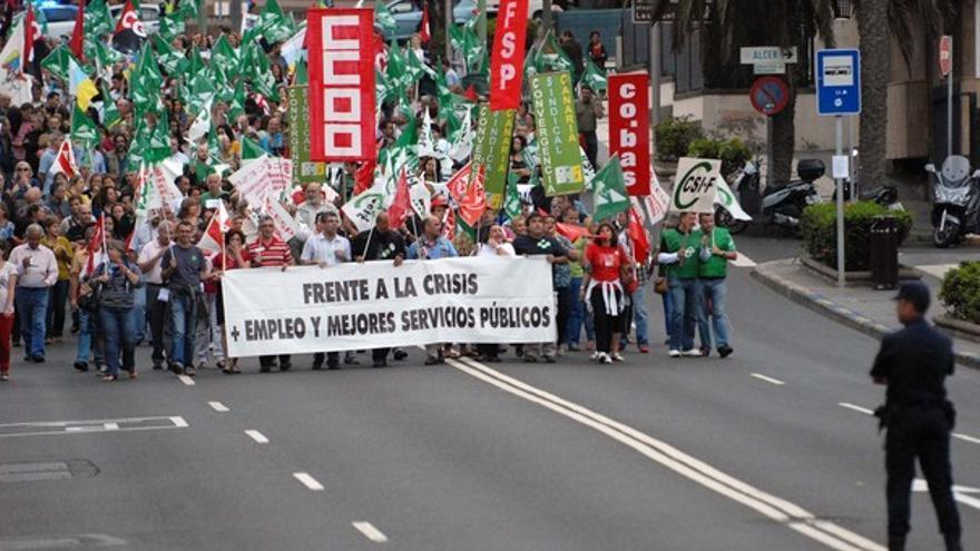 De la protesta de empleados públicos #3