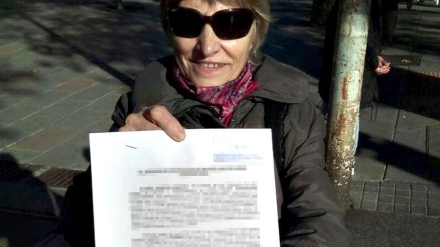 Felisa Echegoyen con la querella interpuesta contra Billy el Niño / Ceaqua