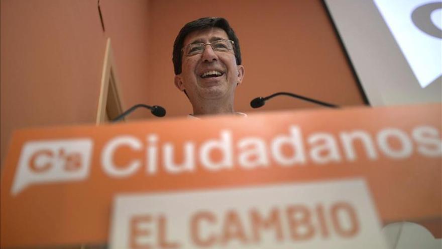 """Ciudadanos ve """"muy probable"""" el acuerdo en Andalucía tras el 24M"""