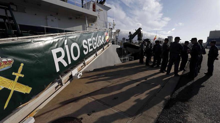 El buque Segura acude por tercera vez a ayudar en rescates en el Mediterráneo