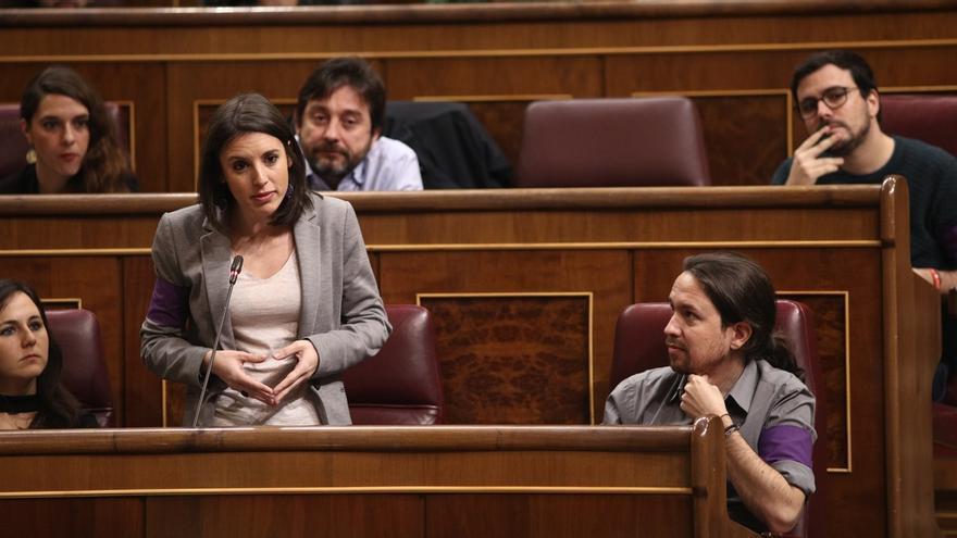 """Unidos Podemos presenta su moción de censura como """"alternativa contundente a la corrupción del PP"""""""