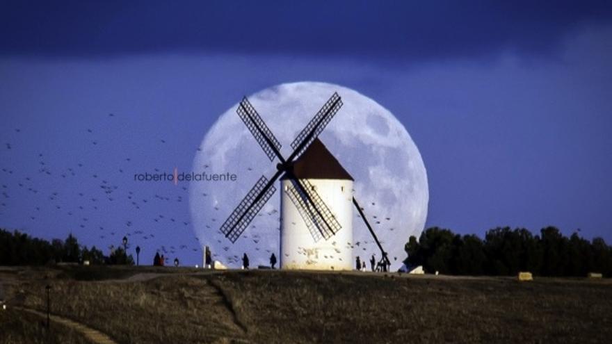 Resultado de imagen de imagenes de la superluna en la mancha