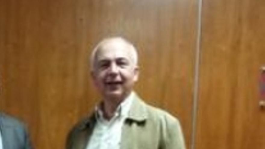 Enrique Wood, miembro del tribunal en el aula en que se examinó Manuel Báez