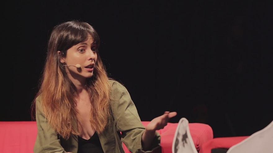 Leticia Dolera en el show de Lucía Lijtmaer e Isa Calderón, Deforme Semanal