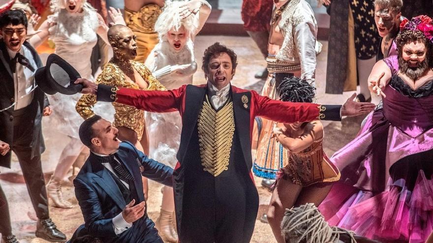 Fotograma de la película 'El gran showman'