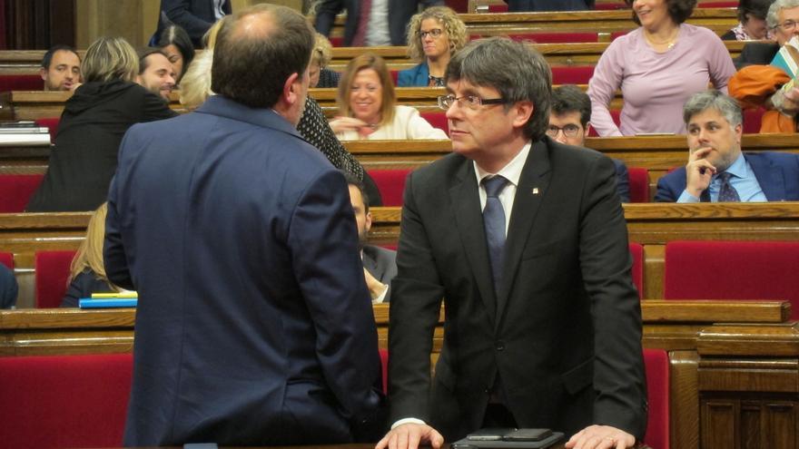 JxSí defiende que los Presupuestos permitirán culminar la legislatura con un referéndum
