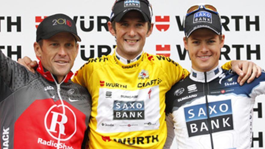 Frank Schleck gana el Tour de Suiza