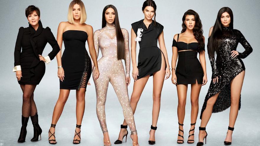 Imagen promocional del reality de las Kardashian