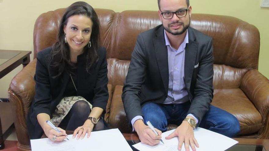 Laura García Yanes y Jordi Pérez Camacho.