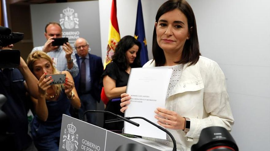 Crece la opinión en el PSOE de que Montón debería dimitir