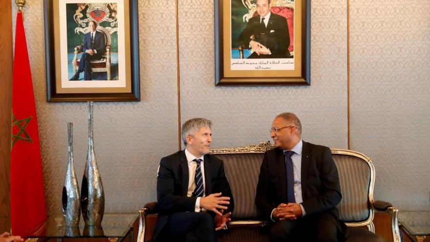 Marlaska garantiza que el fin de las concertinas se coordinará con Marruecos