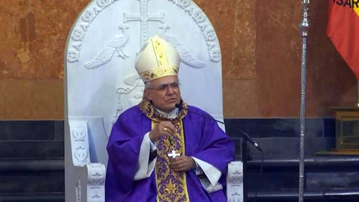Demetrio Fernández, obispo de Córdoba.