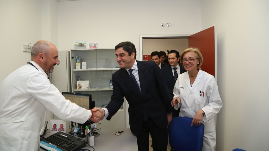 Inauguración Centro Salud Bolaños de Calatrava
