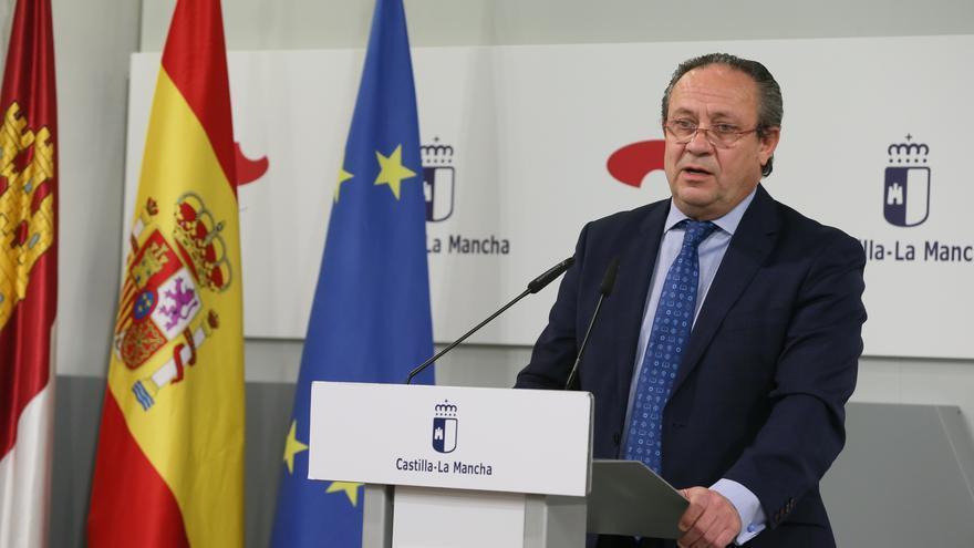 Juan Alfonso Ruiz Molina, consejero de Hacienda y Administraciones Públicas JCCM