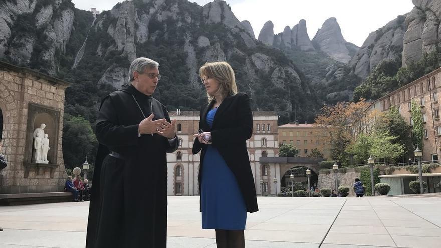 El abad de Montserrat cree que el Vaticano reconocería a una Cataluña independiente