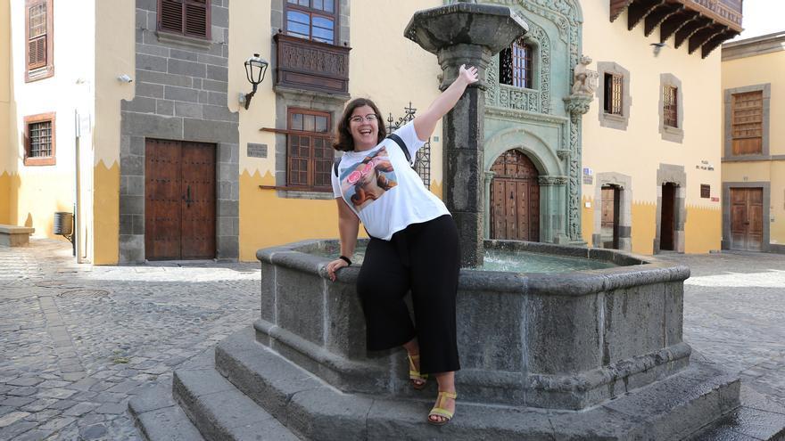 La humorista Delia Santana (ALEJANDRO RAMOS).