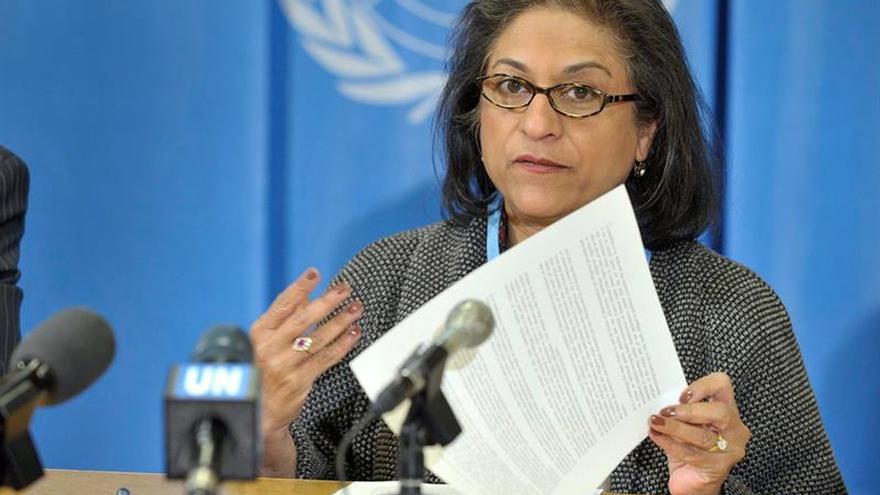 """La ONU lamenta la """"trágica pérdida"""" de su relatora especial para Irán"""