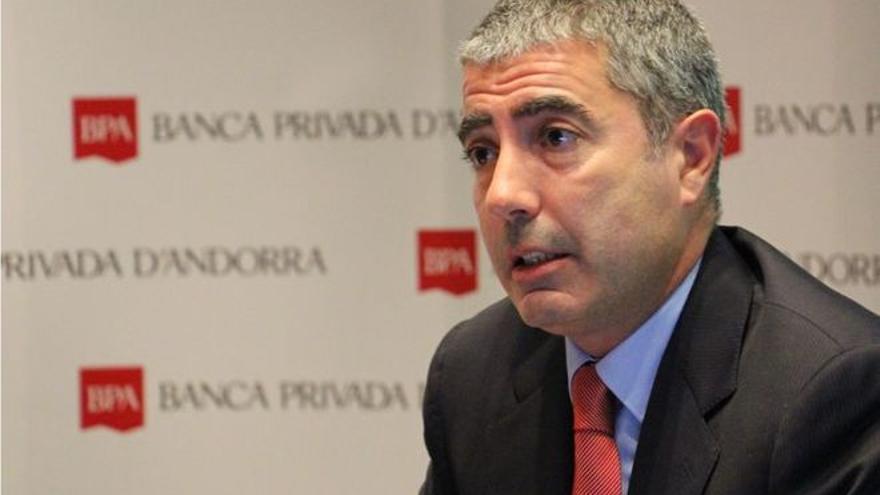 Joan Pau Miquel Prats, director de Banca Privada de Andorra.