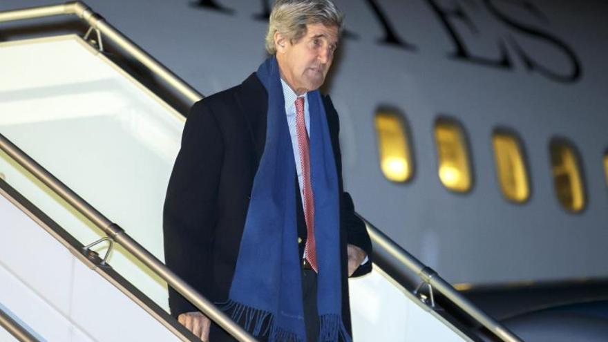 Kerry excluye la presencia a Al Asad en un futuro gobierno transitorio de Siria