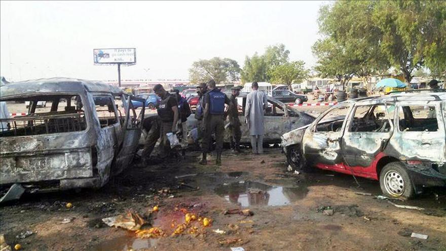 Al menos 44 muertos en varias explosiones en una ciudad del norte de Nigeria
