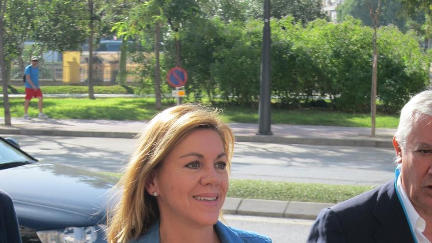 """Púnica-Cospedal dice que si hay más cargos del PP implicados judicialmente """"con visos de verosimilitud"""" se les expulsará"""