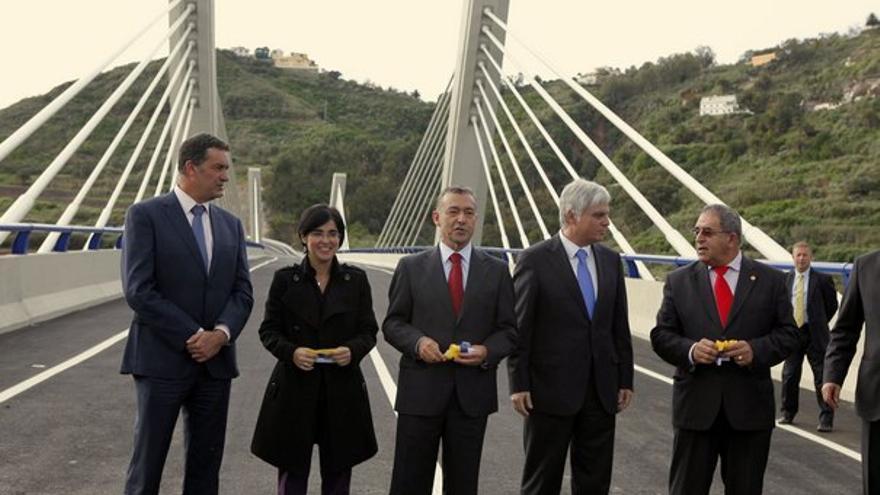 De la inauguración del viaducto #1