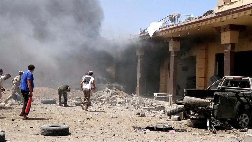 Aumentan a 41 muertos en dos bombardeos de coalición en zona del EI en Siria
