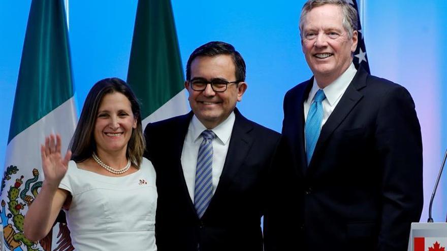 La tercera ronda negociadora del TLCAN empieza en Canadá con pocas expectativas