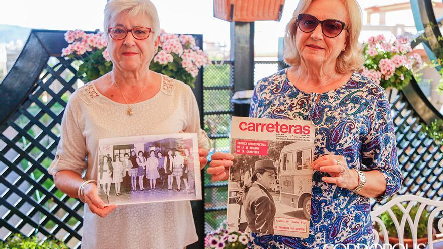Delfina y Dolores Tapia, primeras policias locales de España | ALEX GALLEGOS