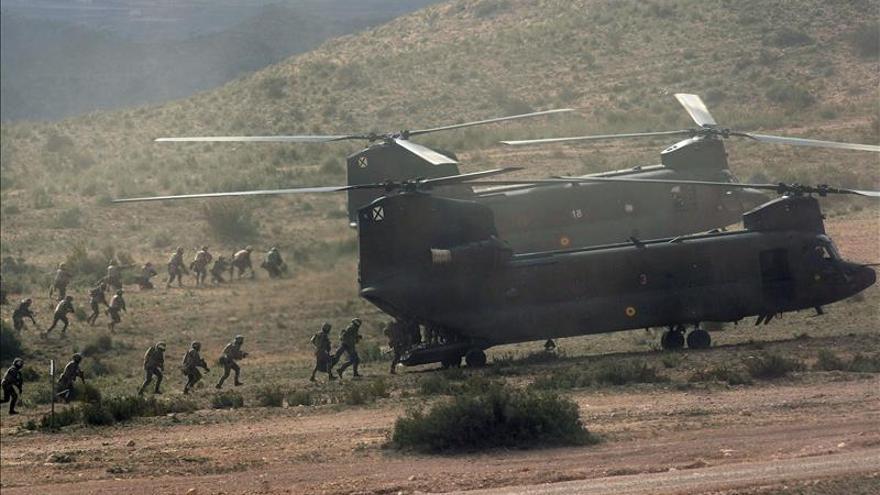 La élite del Ejército ensaya la captura de un terrorista en suelo hostil