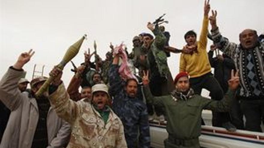 Las fuerzas rebeldes controlan la ciudad de Misrata