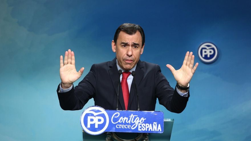 El número tres del PP, Fernando Martínez Maíllo