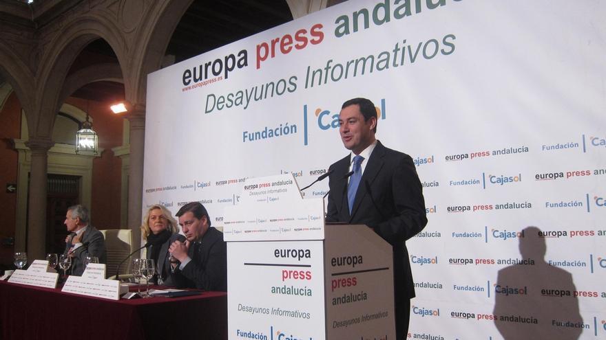"""Moreno se presenta como alternativa al """"gobierno de la marmota"""" que ofrece Susana Díaz"""