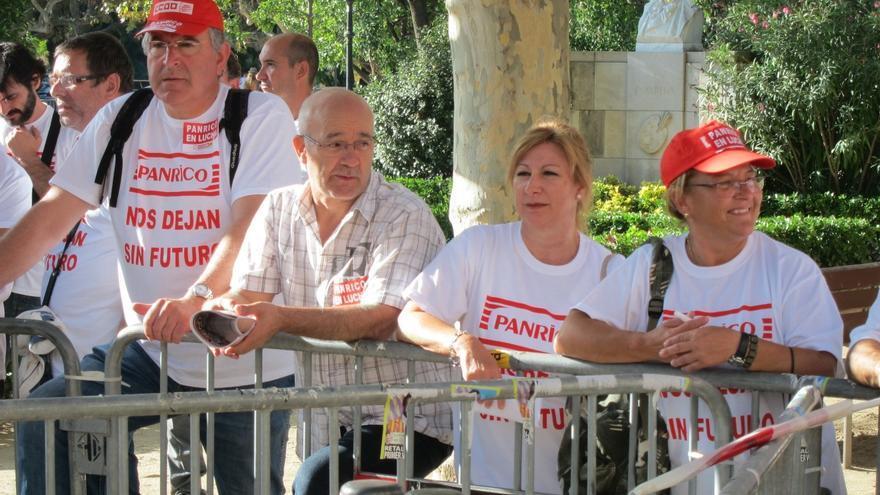 """El Parlamento catalán apoya a los trabajadores de Panrico y """"lamenta"""" su incidente con los Mossos"""
