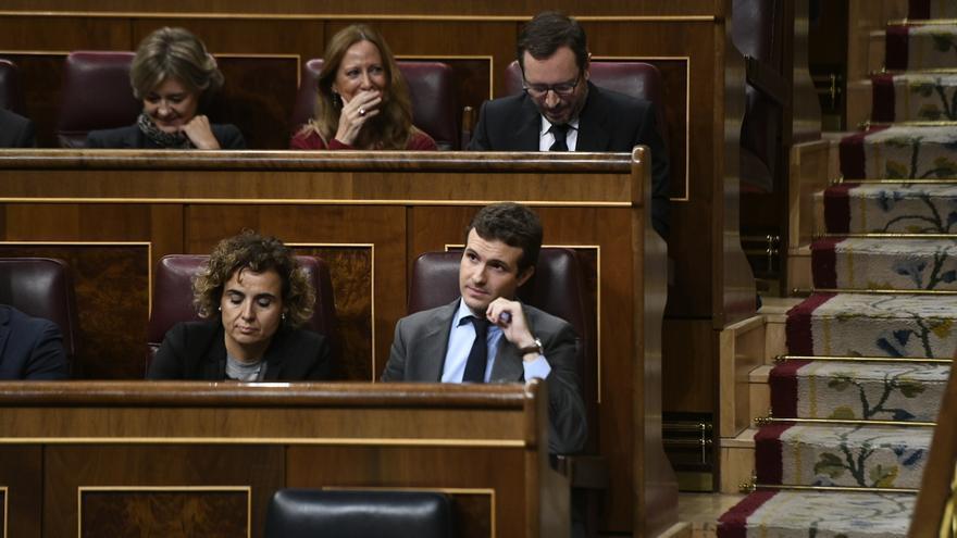 Casado insiste en que Sánchez vaya al Senado por su tesis pero se abre a apoyar la comisión que pide Cs en el Congreso
